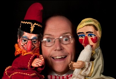 Jonathan Cann is also a Punch & Judy Professor